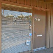 clinic front door